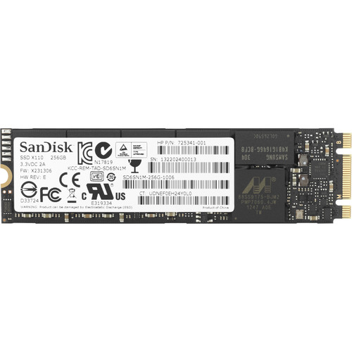 HP 256GB PCIe M.2 Internal SSD
