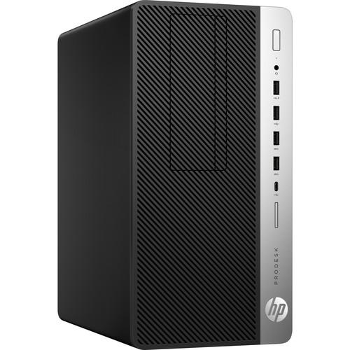 HP ProDesk 600 G3 Microtower Desktop Computer