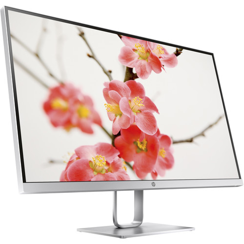 "HP 1HR73AA#ABA 27"" 16:9 Reduced Bezel LCD Monitor"