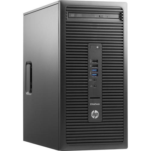 HP EliteDesk 705 G3 Microtower Desktop Computer