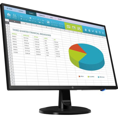 """HP N246V 23.8"""" Full HD 1080P VGA LED Monitor"""