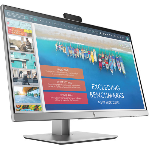 """HP EliteDisplay E243d 23.8"""" Docking Monitor with Stand (Smart Buy)"""