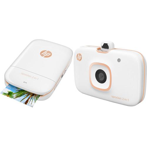 HP Sprocket 2-in-1 Smartphone Printer & Instant Camera (White)