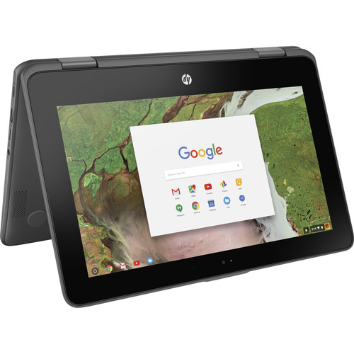 "HP 11.6"" 16GB Multi-Touch 2-in-1 Chromebook x360 11-ae010nr"