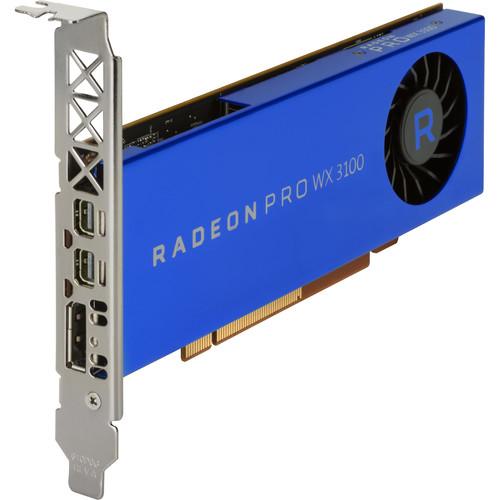HP Radeon Pro WX 3100 Graphics Card