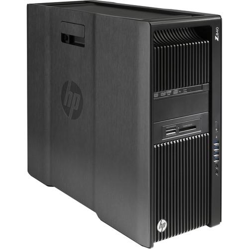 HP Z840 Series Turnkey Workstation with 2nd Xeon E5-2620 v4, 32GB RAM, 1TB SSD, Drive Bracket, Quadro M4000, and Thunderbolt 2 Card
