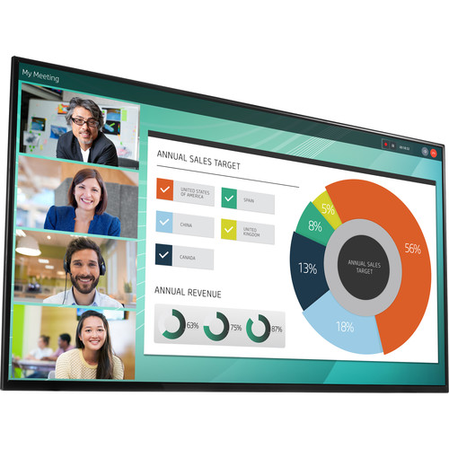 "HP LD5512 55"" 4K UHD T5X84A8 Conferencing Display"