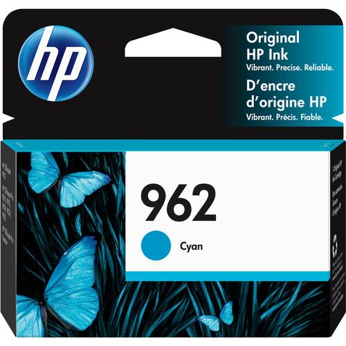 HP 962 Cyan Original Ink Cartridge
