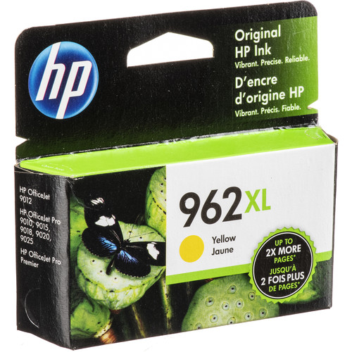 HP 962XL High Yield Yellow Original Ink Cartridge