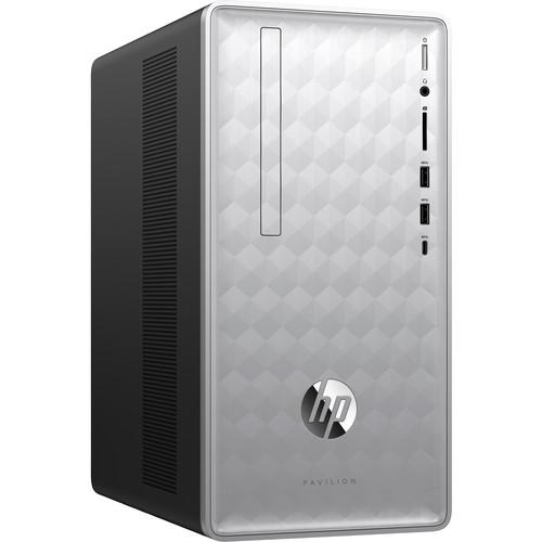 HP Pavilion 590-p0030 Desktop Computer (Natural Silver)