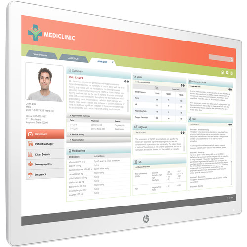 """HP Healthcare Edition HC241 24"""" Clinical Review Monitor (Smart Buy)"""