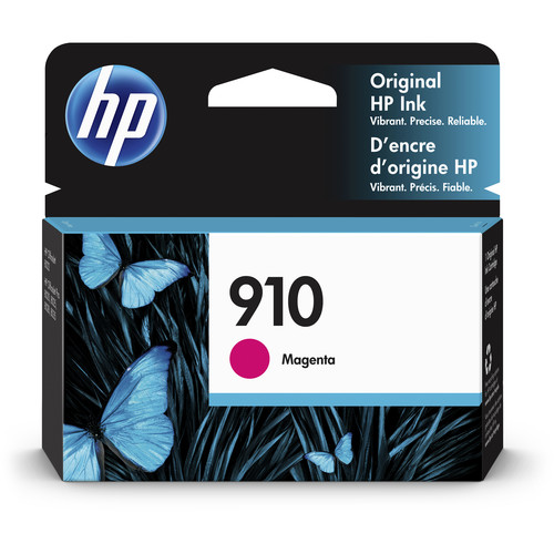 HP 910 Standard-Capacity Magenta Ink Cartridge