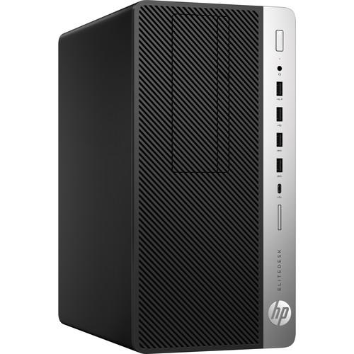HP EliteDesk 705 G4 Microtower Desktop Computer