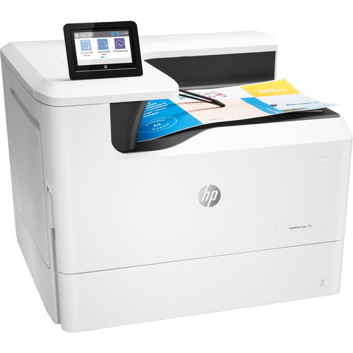 HP PageWide 755dn Inkjet Color Printer