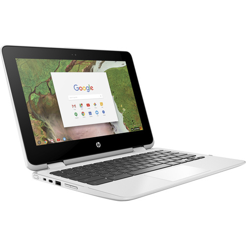 "HP 11.6"" 32GB Multi-Touch 2-in-1 Chromebook x360 11-ae110nr"