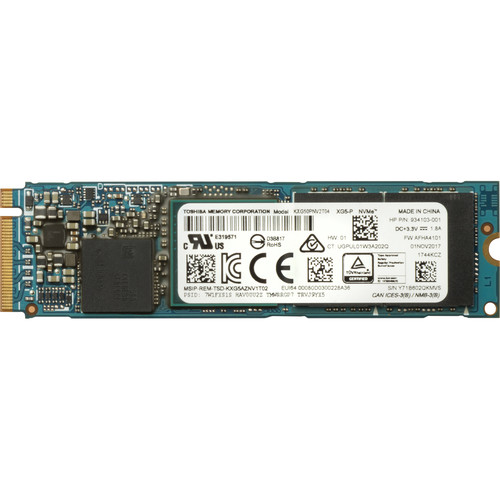 HP 512GB Z Turbo Drive Quad Pro PCIe TLC SSD Module