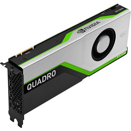 HP Nvidia Quadro Rtx5000 16Gb 4 Dpu + Sbc Pro