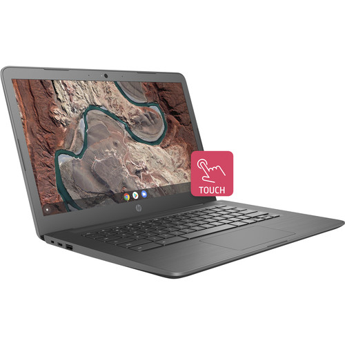 """HP 14"""" 32GB Multi-Touch Chromebook 14 (Ink Blue)"""