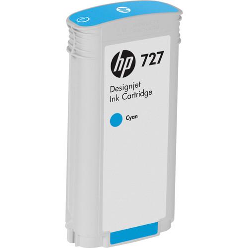 HP 727 Cyan Designjet Ink Cartridge (130 ml)
