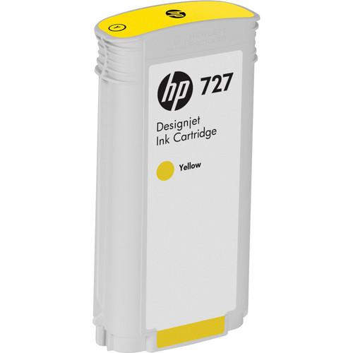 HP 727 Yellow Designjet Ink Cartridge (130 ml)