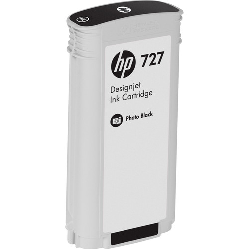 HP 727 Photo Black Designjet Ink Cartridge (130 ml)