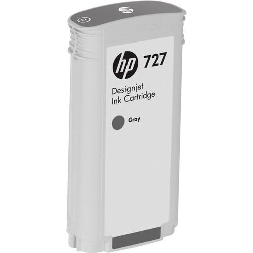 HP 727 Gray Designjet Ink Cartridge (130 ml)