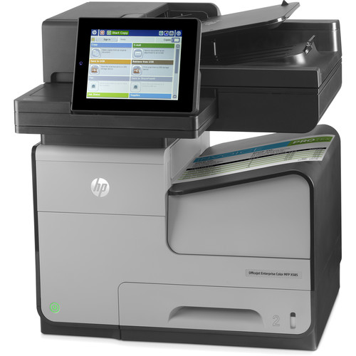HP Officejet Enterprise X585dn Color All-in-One Inkjet Printer