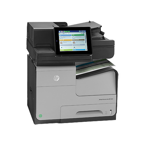 HP Officejet Enterprise X585f Color All-in-One Inkjet Printer