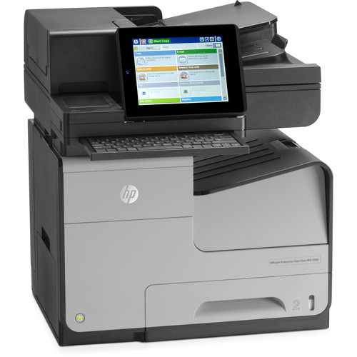 HP Officejet Enterprise X585z Color Flow All-in-One Inkjet Printer
