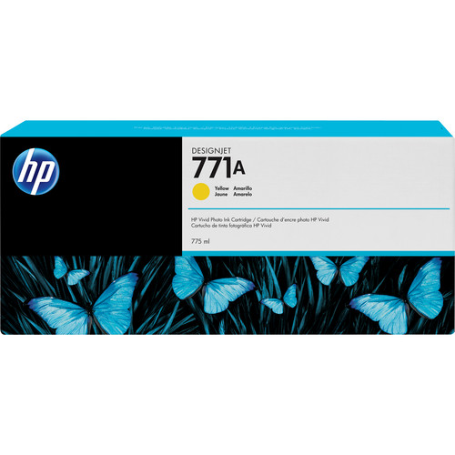 HP 771A DesignJet 775mL Yellow Ink Cartridge