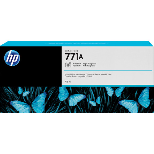 HP 771A DesignJet 775mL Photo Black Ink Cartridge