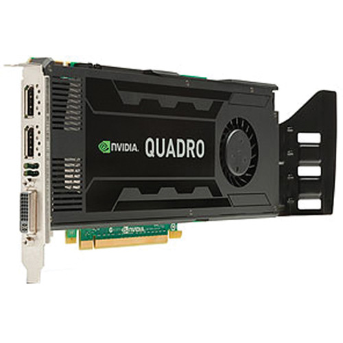 HP 3GB NVIDIA Quadro K4000 DL-DVI+2xDP Graphics Card