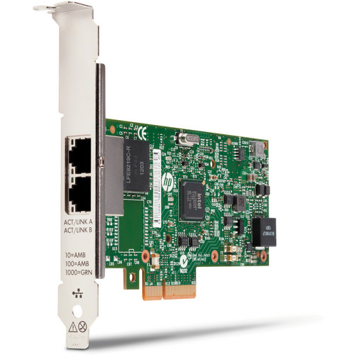HP 361T PCIe Dual-Port Gigabit Network Interface Card