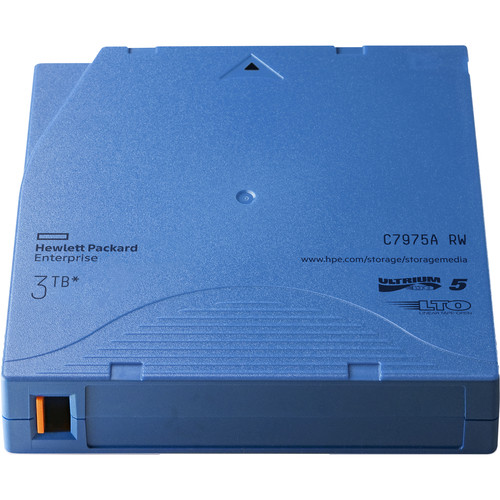 HP 3TB LTO-5 Ultrium RW Data Cartridge (Light Blue, 20-Pack)