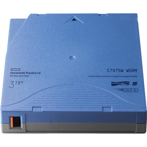 Hewlett Packard Enterprises 3TB LTO-5 Ultrium WORM Data Cartridge