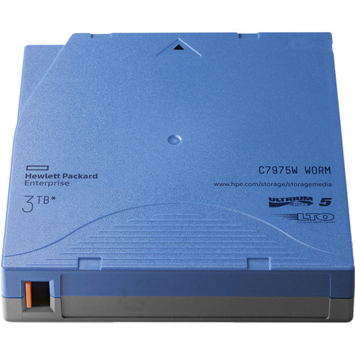HP 3TB LTO-5 Ultrium WORM Custom-Labeled Data Cartridge (20-Pack)