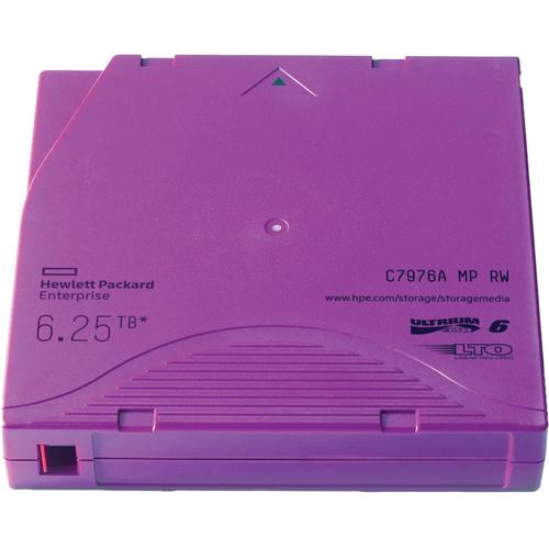 Hewlett Packard Enterprises 6.25TB LTO-6 Ultrium RW Data Cartridge (Purple)