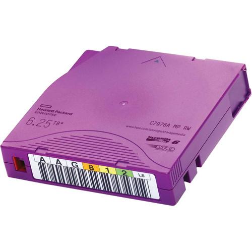 HP 6.25TB LTO-6 Ultrium MP RW Custom-Labeled Data Cartridge (20-Pack)