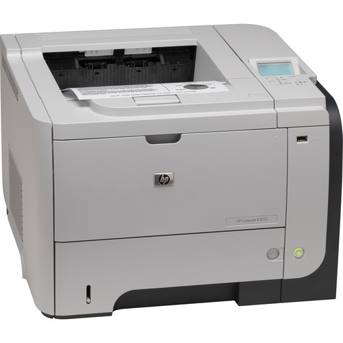 HP LaserJet Enterprise P3015dn Network Monochrome Laser Printer