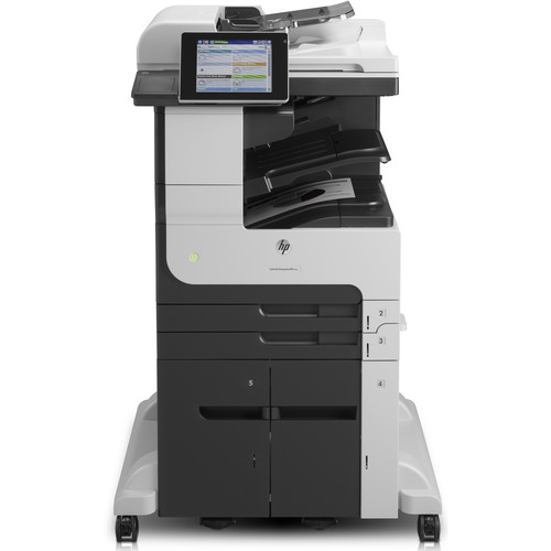 HP LaserJet Enterprise M725z+ All-in-One Monochrome Laser Printer