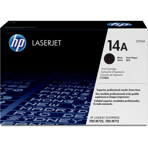 HP 14A LaserJet Black Toner Cartridge