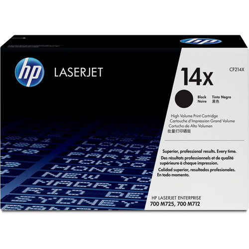 HP 14X LaserJet High-Yield Black Toner Cartridge