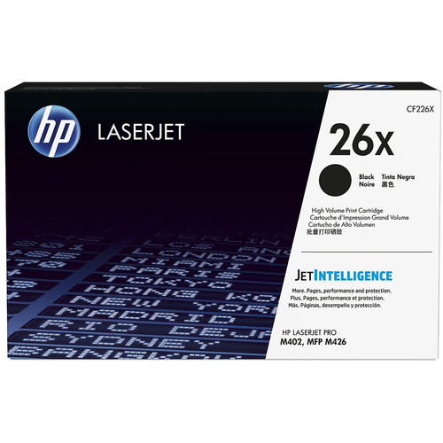 HP 26X High Yield Black LaserJet Toner Cartridge