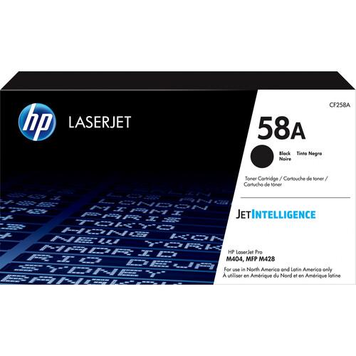 HP 58A Black LaserJet Toner Cartridge