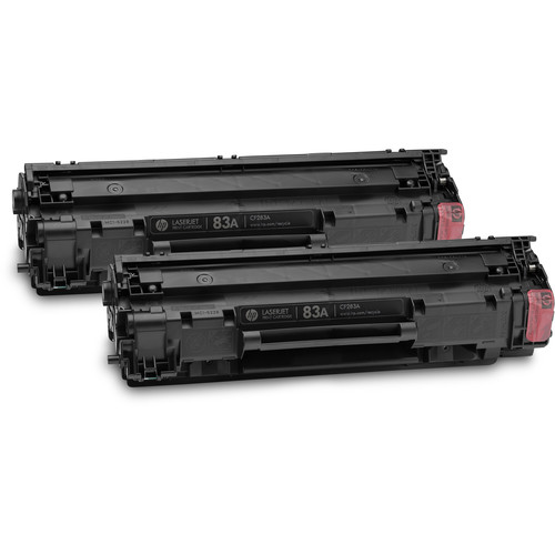 HP 83A Black LaserJet Toner Cartridge (2-Pack)