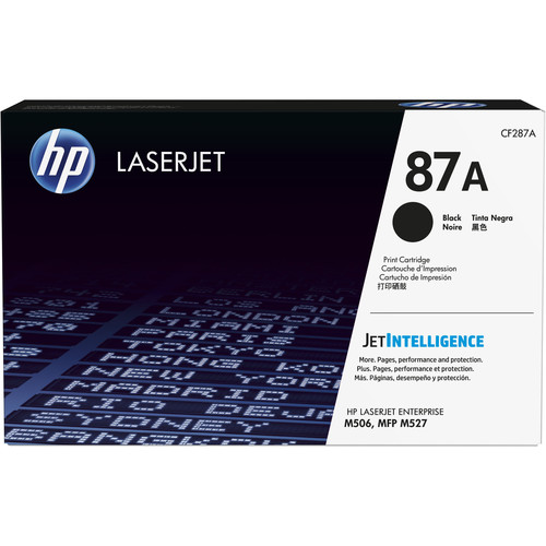 HP 87A Black LaserJet Toner Cartridge