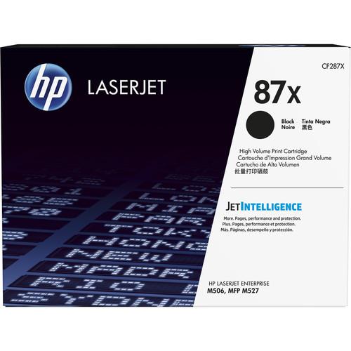 HP 87X High Yield Black LaserJet Toner Cartridge