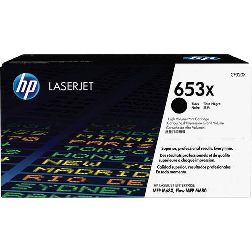HP 653X High Yield Black LaserJet Toner Cartridge