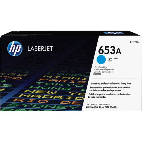 HP 653A Cyan LaserJet Toner Cartridge