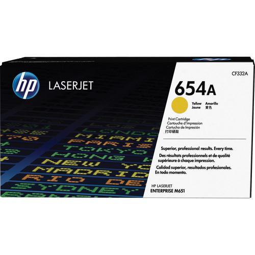 HP 654A Yellow LaserJet Toner Cartridge
